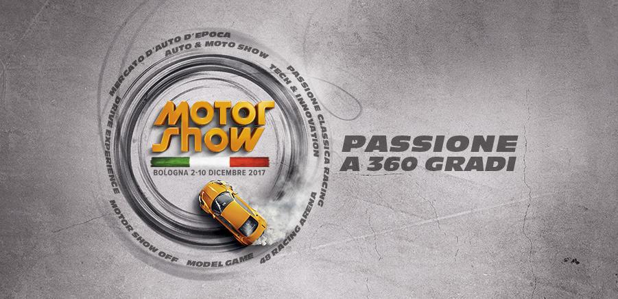 Motor Show 2017: passione a 360 gradi