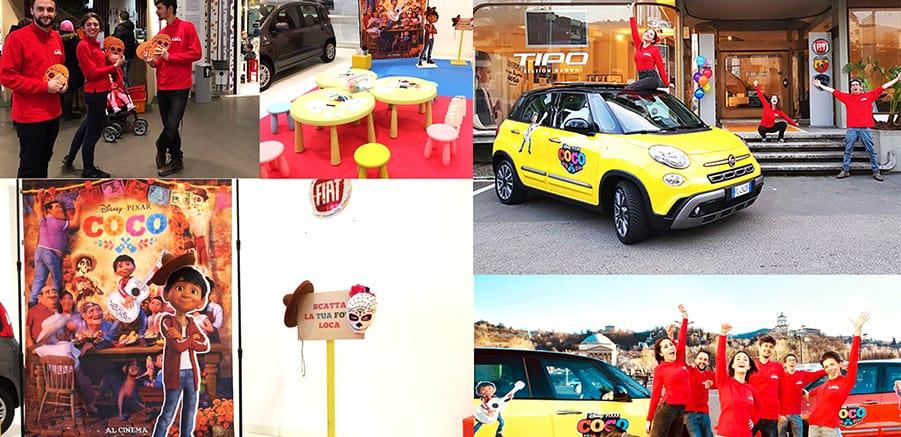 Fiat con Disney Coco