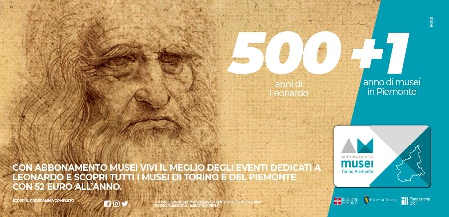 Abbonamento Musei - 500 + 1
